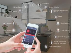 Smart brannalarm med styring via app